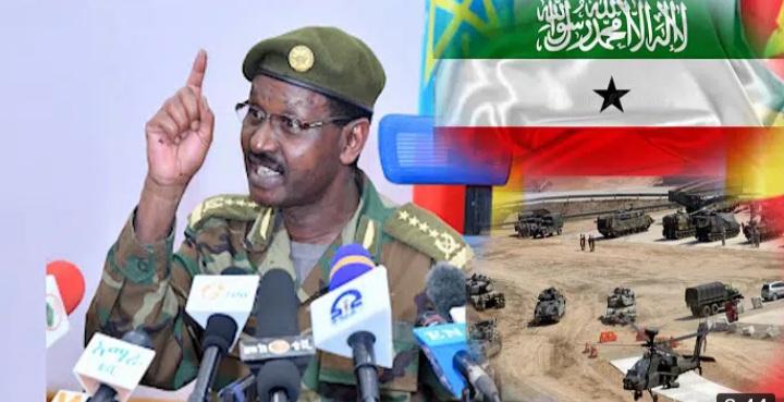 Taliska Millateriga Itoobiya Oo Si adag Uga Hadlay Saldhig Masar Ka Doonayso Somaliland