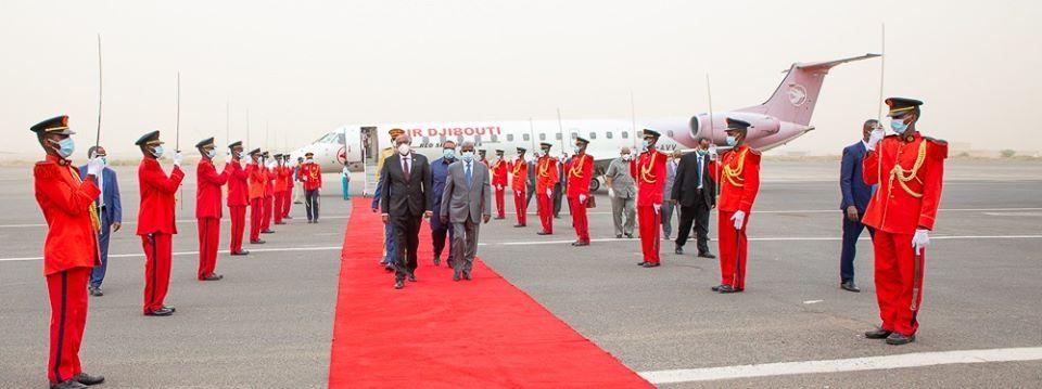 Ra'iisal Wasaaraha Jabuuti Oo Meeqaam Sare Kusoo Dhaweeyey Waftigii Madaxweynaha Somaliland Muuse Biixi Hogaaminayay