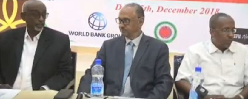 Daawo:Wasiirka Ganacsiga Somaliland Oo Furay Shirka Wada Tashiga Siyaasada Wershadalayda Dalka Somaliland.