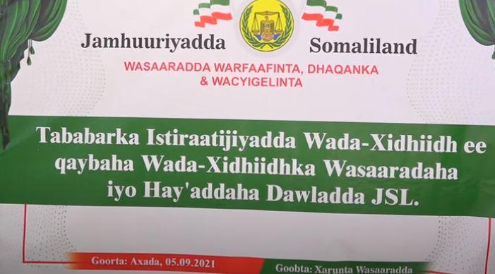 Daawo: Wasaarada Warfafinta Oo Tobabar U furtay Waaxyaha Wada-xidhidhka Wasaaradaha & Hay,adaha Dawlada Jsl