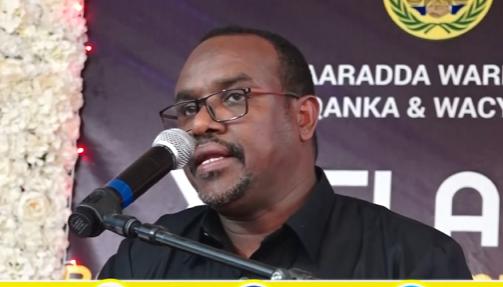 """Gudaha:-""""Hadalada Xanafta Leh Hala Joojiyo""""Wasiirka Warfaafinta Somaliland Saleebaan Cali Koore"""