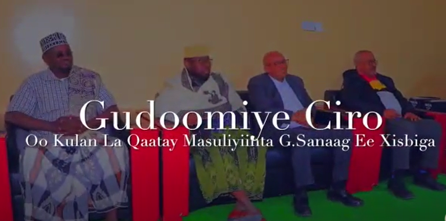 Gudaha:-Guddoomiye Cirro iyo madaxda heer gobol iyo heer degmo ee Xisbiga WADDANI gobolka Sanaag+Arimaha Ay ka Wadahaleem=n.