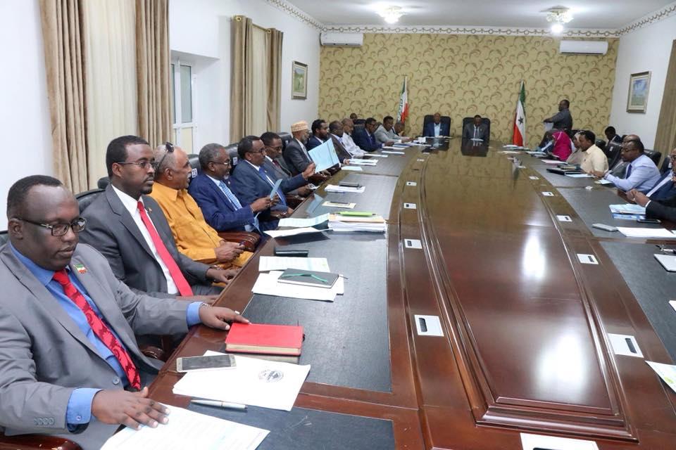 Hargeisa:-Shirkii Golaha Wasiirada Somaliland Oo Lagag Hadlay Waxa Soo Saarka Dalka Oo Kor Loo Qaado.