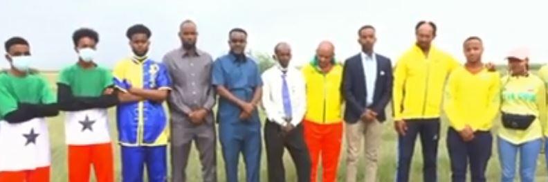 Daawo: Agasimaha guud ee ciyaaraha JSL oo qabilay koox ka mida koxaha ciyaraha lagdanka ee dawlada ethiopia