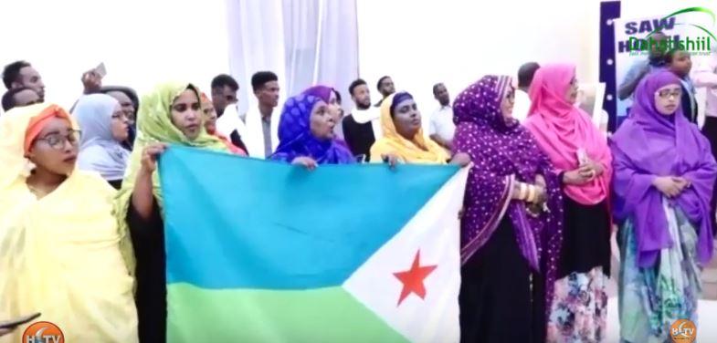 Gudaha:-Safiirka Jabuuti oo ka Qaybgalay Xuska munaasibadda 27-ka June Ku Xusay Magaalada Barome.