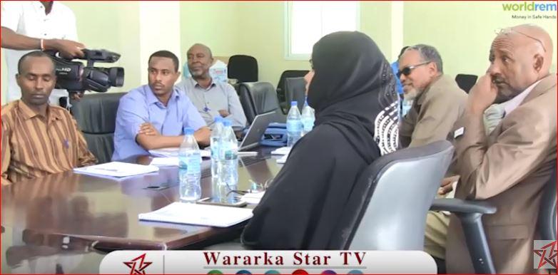 Hargeisa:-Wasiirka Biyaha Somaliland Oo Kulan La Qaatay Masuuliyinta Wasaarada Biyaha Gobolada Somaliland