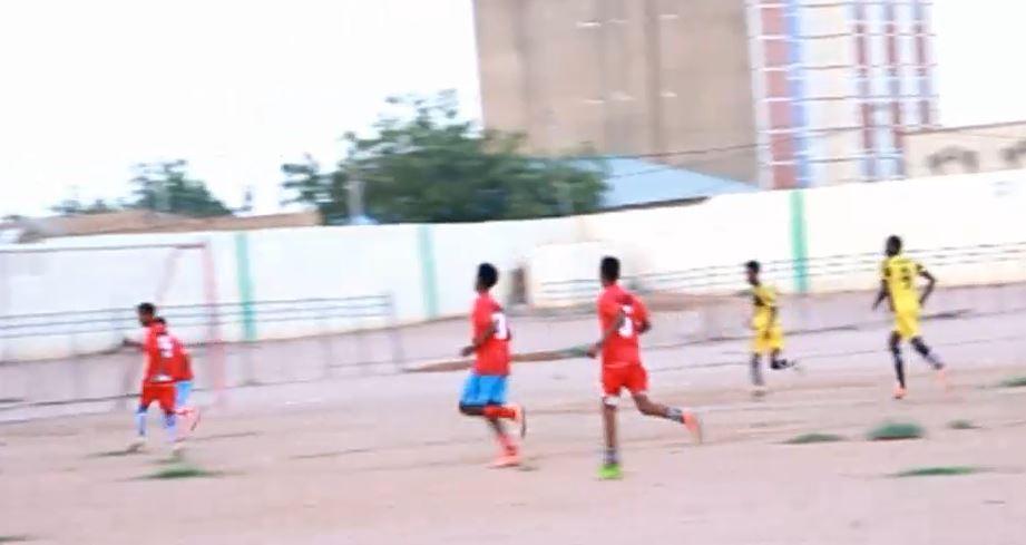 Burco: Daawo Wasaaradda Dhalinyarada iyo Ciyaaraha Gobolka Togdheer oo Tartan ciyaareed ka furay Alamzay Stadium