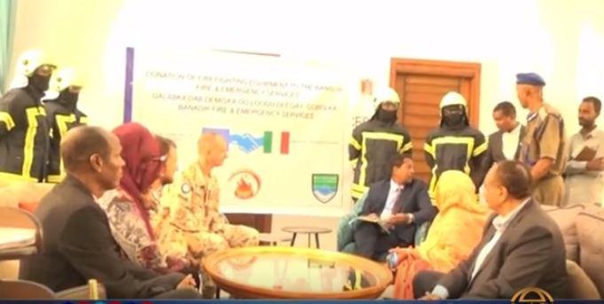 Somalia:-Wafti Ka Socda Dalka Talyaaniga Ayaa Kulan La Qaatay Maamulka Gobolka Banaadir.