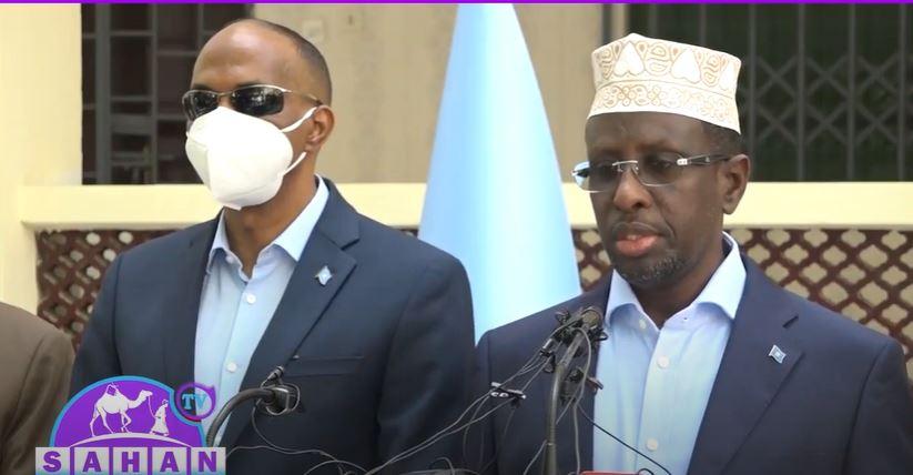 Midowga Musharaxiinta Somaliya Oo Fariin U Diray Madaxwayanaha Somaliya.