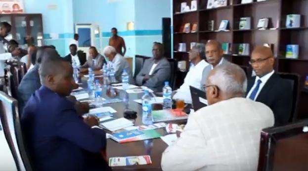 Hargeisa:-Xildhibaano Ka Tirsan Baarlamaanka Ugaand Oo Kulan La Qaatay Shirgudoonka Golaha Wakilada Somaliland.