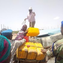 Wafti Uu Hogaaminayo Wasiirka Beeraha Somaliland Oo Kormeer Ku Maray Goobaha Uu Ka Socod Mashuurca Ciida Iyo Biyo Qabatinka Biji.