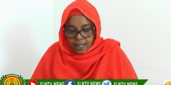 Hargeisa:-Rooda Axmed Yaasiin Kamida Komishanka Xuuquuqal Iin Saanka Somaliland Ayaa Ka Hadashay Colaada Ceel-afweyn.