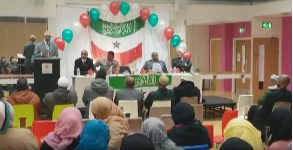 Gudaha:-Wafti Ka Socda Xukuumada Somaliland Oo Kulan La Qaatay Jaaliyada Reer Somaliland Ee Waddanka Ingiriiska.