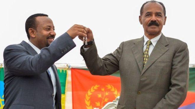 Qaramada Midoobey oo Eritrea ka qaaday cunaqanatayntii saarnayd