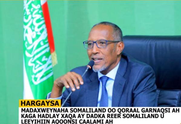 Madaxweyne Biixi Oo Ku Baaqay In Caalamku Aqbalo Xaqa Reer Somaliland U Leeyihiin Aayo-Ka-Tashigooda