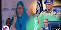 Garab-ka Haween-ka ee Xisbiga Waddani oo Cabasho ka Muujiyey Taliyaha Ciidanka Booliska Somaliland.