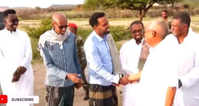 Daawo: Madaxweyne Kuxigenka Somaliland oo lagu so dhoweyey Borama