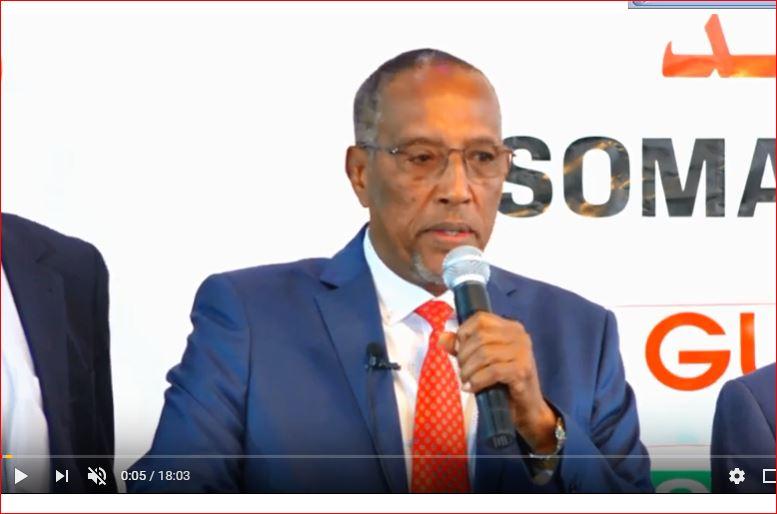 Hargeisa:-Madaxwaynaha Somaliland Oo Khudbad Dhinacyo Badan Taabanaysa Ka Jeediyey Carwada Ganacsiga Ee 8aad.