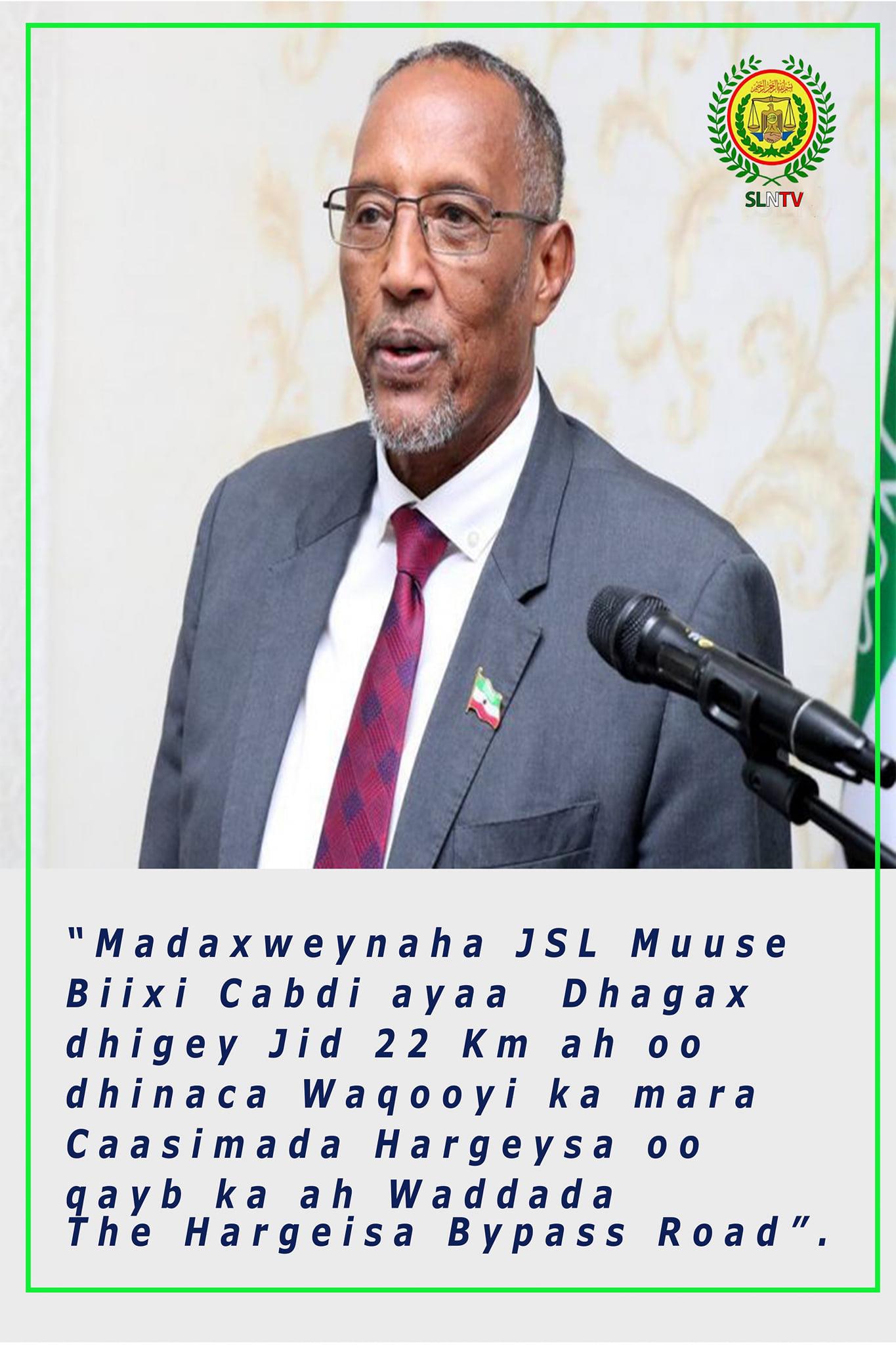 Madaxweynaha Somaliland Oo Fariin U Diray Ganacsatada Dalka & Nuxurka Ay Daaran Tahay