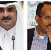 Qadar:Dawladda Qatar Iyo Farmaajo Oo La Sheegay Inay Aragti Ahaan Kala Fogaadeen