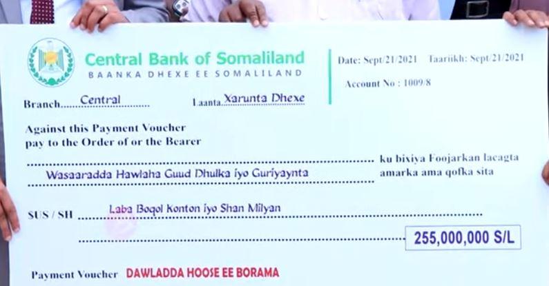 Daawo: Magaalo Somaliland kamida oo lagu Horumarinayo 255 million