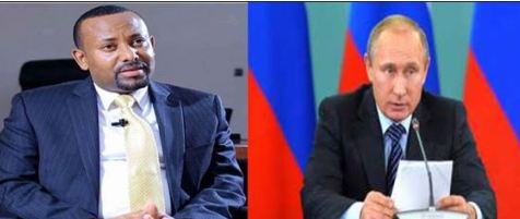Russia:Madaxweynaha Ruushka Oo Ka Hadlay Iskaashi Dhex Mari Kara Dalka Itoobiya