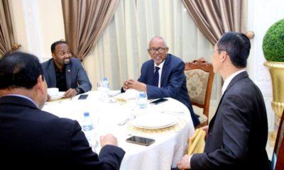 Madaxweyne Ku Xigeenka Somaliland Oo Casho Sharaf U Sameeyey Wafti Ka Socday Dalka Taiwan