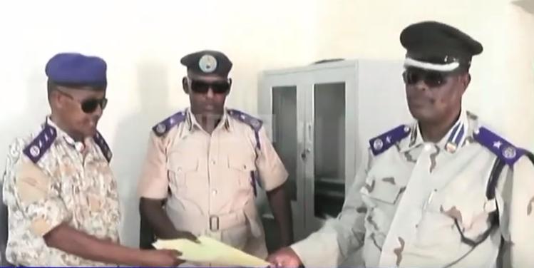 Gudaha:-Taliye Ku Xigeenka Ciidanka Booliska Somaliland Oo Kormeer Ku Tegay Saldhigyada Magaalada Laascanod