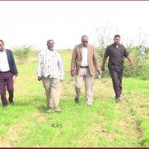 Burco: Daawo Agaasimaha Guud ee Wasaaradda Beeraha oo Daahfuray Mashruuc 400 Higtar loogu Beerayo Deegaanka Beer