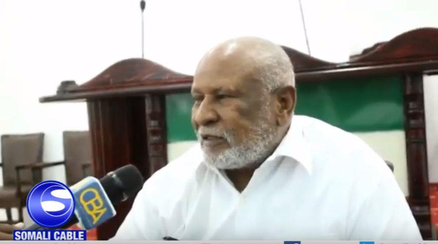 War Deg Deg Ah:-Gudomiyaha Golaha Guurtida JSL Saleeban Maxamuud Adan Oo Taageray In Wafti Somaliland Ah Ay Tagaan Kismaayo.