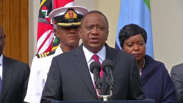 Uhuru Kenyatta oo ka hadlay weerarkii Nairobi