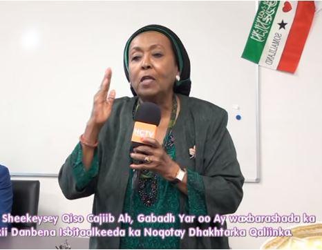Gudaha:-Dr Edna Aadan Oo Ka Sheekaysay Qiso Cajiib Ah Oo Soo Martey.