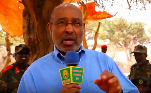 DAAWO:-Khudabadii Pro Axmed Ismail Samatar Ka Jeediyay Jiida Hore Ee Ciidanka Qaranka Somaliland Iyo Arimo Xasaasiya Oo Uu Ka Hadlay+Maxay Yihiin.