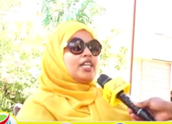 Hargeisa:-Xildhibaan Fihiima Yusuf Oo Eedihii Ugu Cuslaa U Jeedisay Hanti Dhawrka Qaranka Somaliland.