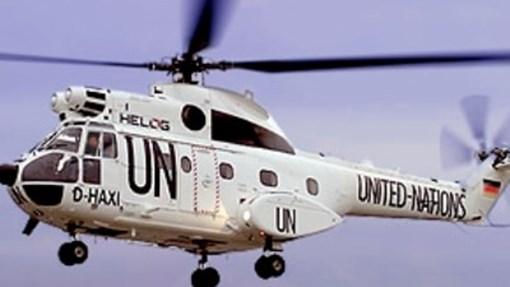 Diyaarado Helicopter oo ka qeybqaadanaya baadigoobka loogu jiro dad lagu la'yahay biyaha Wabiga Shabeelle