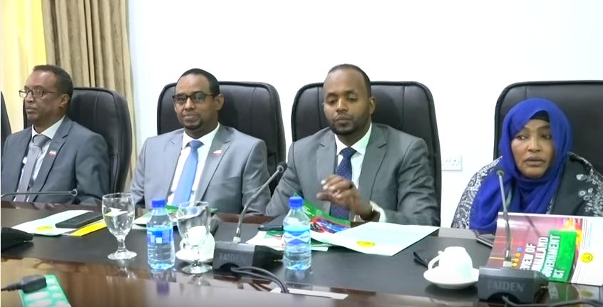 Hargysa:Shirka Golaha Wasiirada Somaliland oo lagu gorfeeyey E-Government