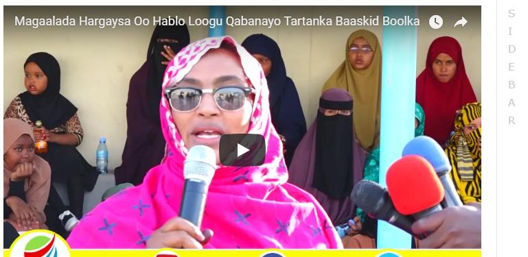 Hargaisa:-Magaalada Hargaysa Oo Hablo Loogu Qabanayo Tartanka Baaskid Boolka