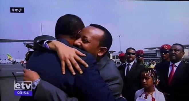 War Deg DegMadaxweynaha Eritrea Oo Hada Soo Gaadhay Magaalada Addis Ababa +U Jeedka Safarkiisa Iyo Cida Soo Dhawaysay.