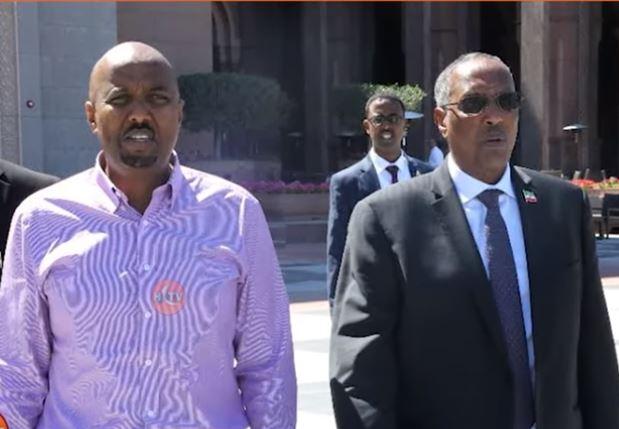 Daawo: Madaxweynaha Somaliland oo iscasiladii ka aqbalay Wasiir Bashe Cawil, Si Degdeg ahna u Buuxiyey jagadaas