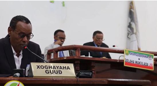Golaha Wakiiladda Somaliland Oo Ansixiyay Xeerka Ka ganacsiuga Aaga Cashuuraha Ka Caagan