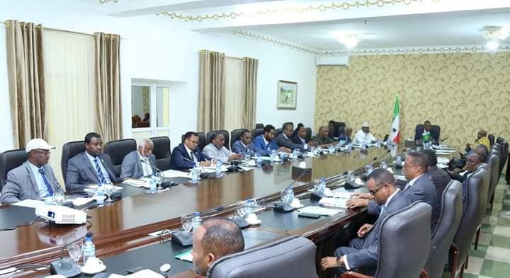 Shirkii Golaha Wasiirrada Somaliland Oo Maanta Lagaga Dooday qodobbo muhiima.