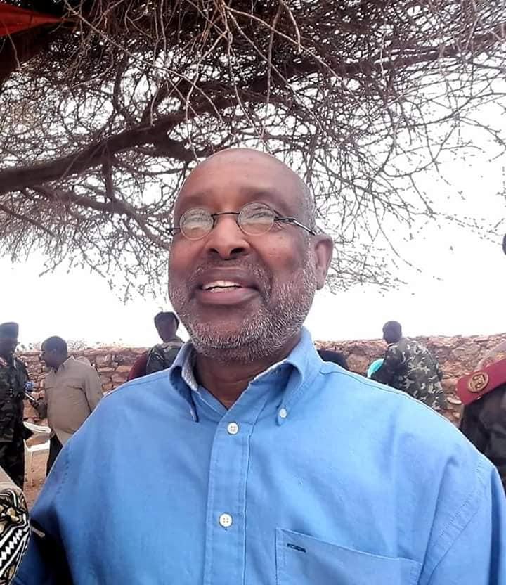 Tuke-Raq:-Pro Axmed Ismail Samatar Oo Ka Soo Dhex Muuqaday Jiida Hore Ee Ciidanka Somaliland +Arimaha Uu Kala Hadlay Ciidanka.