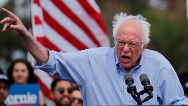 Bernie Sanders oo Ruushka uga digay 'inuu ka fogaado doorashooyinka Mareykanka'