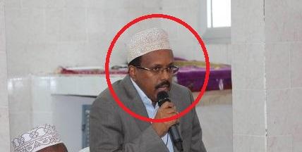 Muqdisho:-Madxaweynaha Somalia Oo Xil Ka Qaadis Ku sameeyay Gudoomiyaha Maxkamada Sare Ee Somalia Masuul Cusubna U Magacaabay Xilkaas.