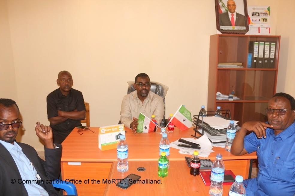 Borame:-Wasiirka Gaadiidka Somaliland Oo Furay Dhisme Loo Dhisay Xafiiska Wasaaradda Ee Gobolka Awdal