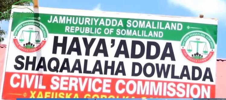 Ceerigaabo: Daawo Hay'Adda Shaqaalaha Somaliland Oo Xafiis Cusub Ka Furatay Ceerigaabo.