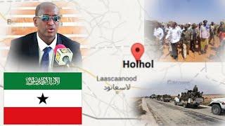 Somaliland Oo Ka Hadashay Socdaal Kii Uu Gobolka Sool Ku Yimi Madaxwayne Ku-xigeenka Puntland