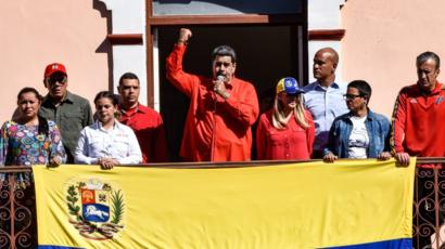 Mareykanka ayaa madaxweynaha Venezuela kusoo oogay dacwad ku saabsan argagixisanimo dhinaca daroogada ah