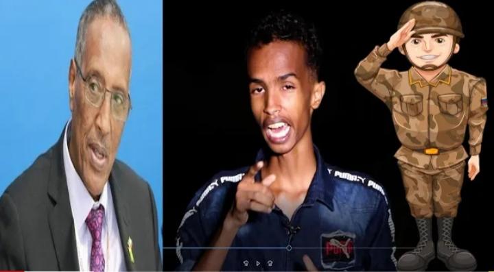 Ciidammada Booliska Somaliland Oo Xabsiga U Taxaabey Xalay Abwaanka Da'da Yar Ee Shuceyb Yare .