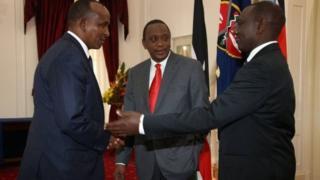 """""""Uma adeegsan doonno kursiga Golaha Ammaanka khilaafka Soomaaliya""""Kenya."""